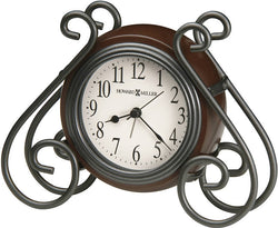 Diane Tabletop Clock Medium Brown