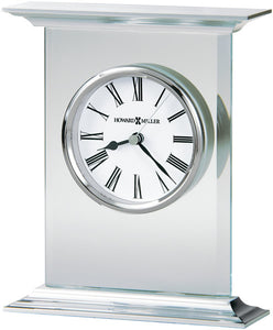 Clifton Table-top Clock Brushed Aluminum