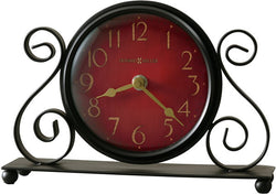 Howard Miller Marisa Table-top Clock Charcoal Black 645649