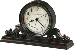 Howard Miller Bishop Tabletop Clock Worn Black 645653