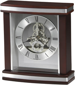Howard Miller Templeton Tabletop Clock Rosewood 645673