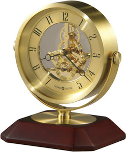 Soloman Tabletop Clock Brushed Brass