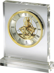 Howard Miller Prestige Tabletop Clock Crystal 645682
