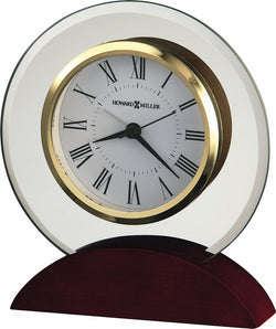 Dana Mantel Clock in Rosewood