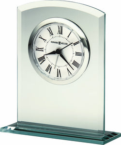 Howard Miller Medina Mantel Clock in Silver 645716