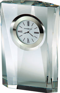 Quest Mantel Clock in Polished Silver