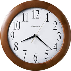 Howard Miller Corporate Wall Quartz Wall Clock Cherry 625214