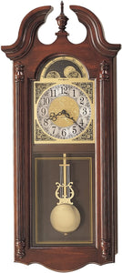Howard Miller Fenwick Quartz Wall Clock Windsor Cherry 620158