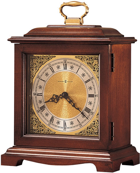 "14""H Graham Bracket III Mantel Clock Windsor Cherry"