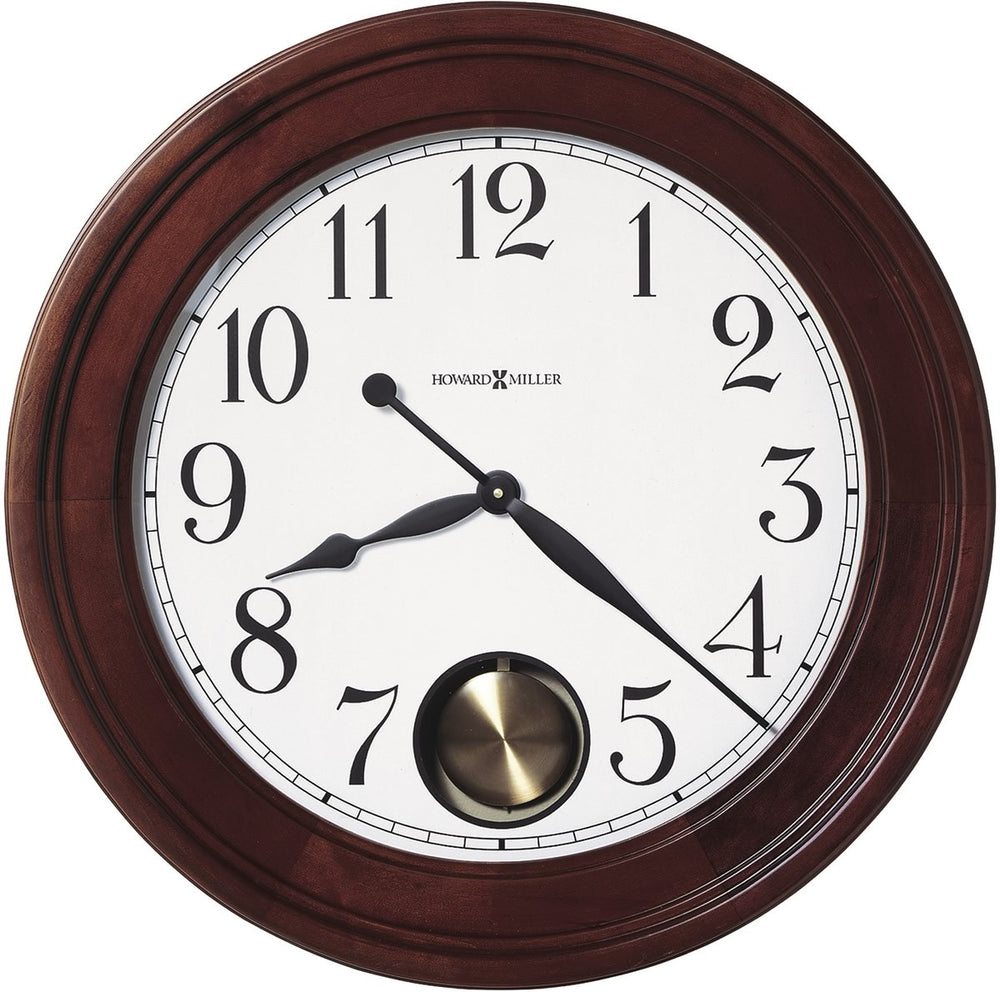 Griffith Gallery Wall Clock Windsor Cherry