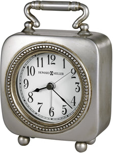 Howard Miller Kegan Alarm Clock Antique Pewter 645615