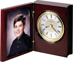 Portrait Book Table-top Clock Rosewood Hall