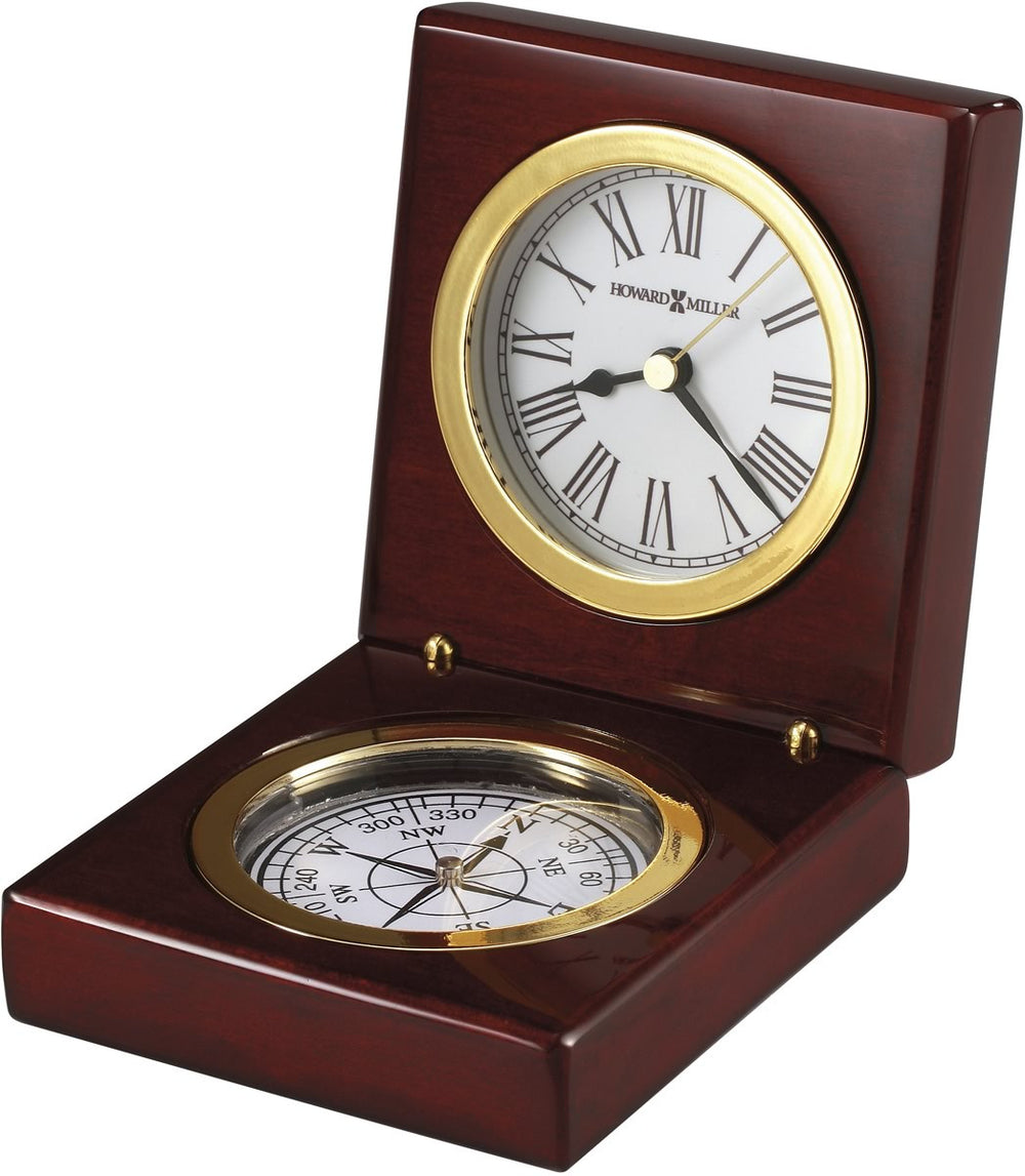 Pursuit Clock High Gloss Rosewood Hall