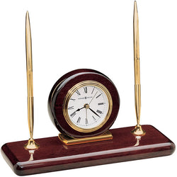 Howard Miller Rosewood Desk Set Alarm Rosewood Hall 613588