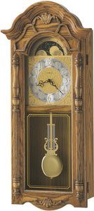 Howard Miller Rothwell Quartz Wall Clock Golden Oak 620184