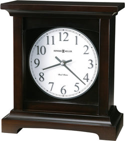 Howard Miller Urban Mantel II Mantel Clock Black Coffee 630246