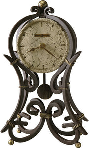 Howard Miller Vercelli Mantel Clock Aged Iron 635141
