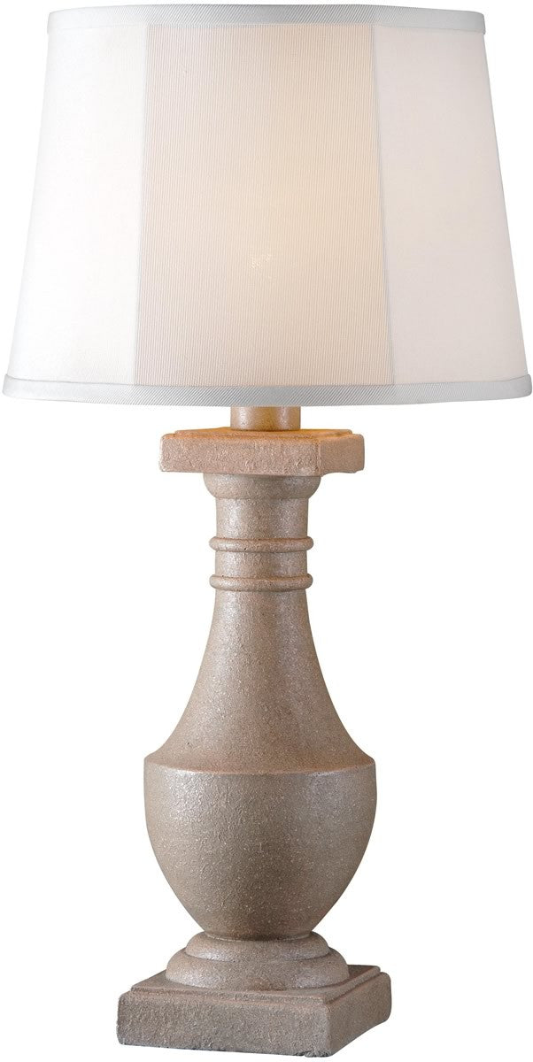"31""h Patio 1-Light Outdoor Table Lamp Coquina"