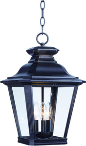 Maxim Knoxville 3-Light Outdoor Pendant 1139CLBZ