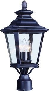 Maxim Knoxville 3-Light Outdoor Post 1130CLBZ