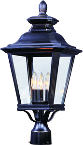 Maxim Knoxville 3-Light Outdoor Post 1131CLBZ