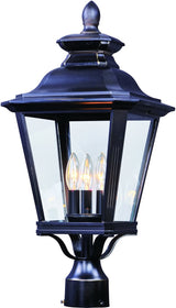 "24""H Knoxville 3-Light Outdoor Post"