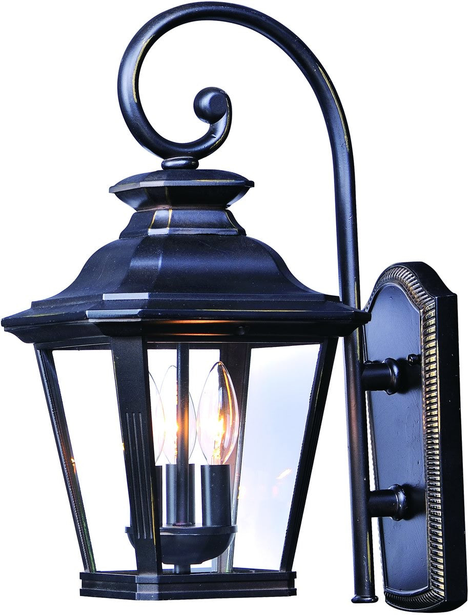 Maxim knoxville 3 light outdoor wall 1137clbz lampsusa