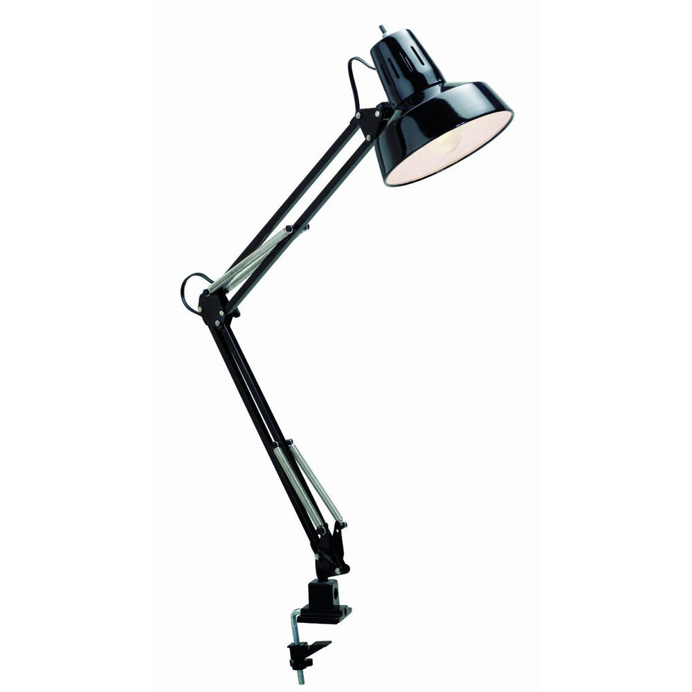 Clamp On Swing Arm Drafting Light Black 76/359
