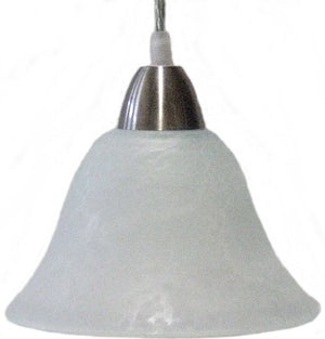 "7""W OPEN BOX Radiance 1-Light Pendant Frost"