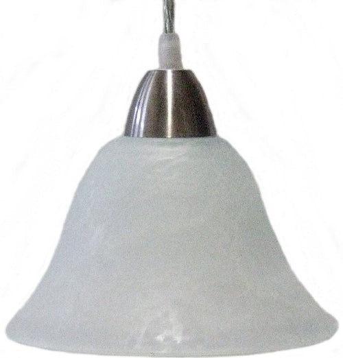LampsUSA OPEN BOX Radiance 1-Light Pendant Frost JRNILP16FROOPEN