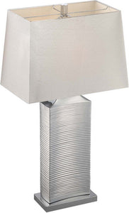 Lite Source Adora 1 Light Table Lamp Chrome Ls22514C