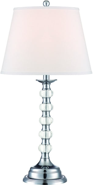Lite Source Aria 1-Light Table Lamp Chrome LS22125