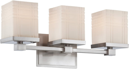 Lite Source Benicio 3-Light Vanity Chrome LS16343
