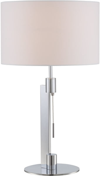 Lite Source Catriona 1-Light Table Lamp Chrome LS22735