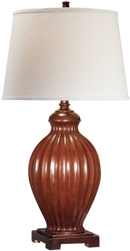 Colletta 1-Light Table Lamp Two Tone Off-White
