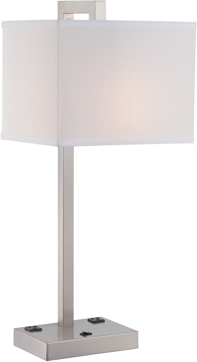 "27""H Contento 1-Light Table Lamp Polished"
