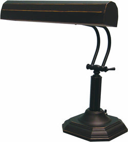 Piano Incandescent Piano Lamp Dark Bronze