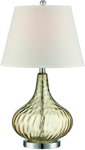 Dillian 1-Light Table Lamp Chrome