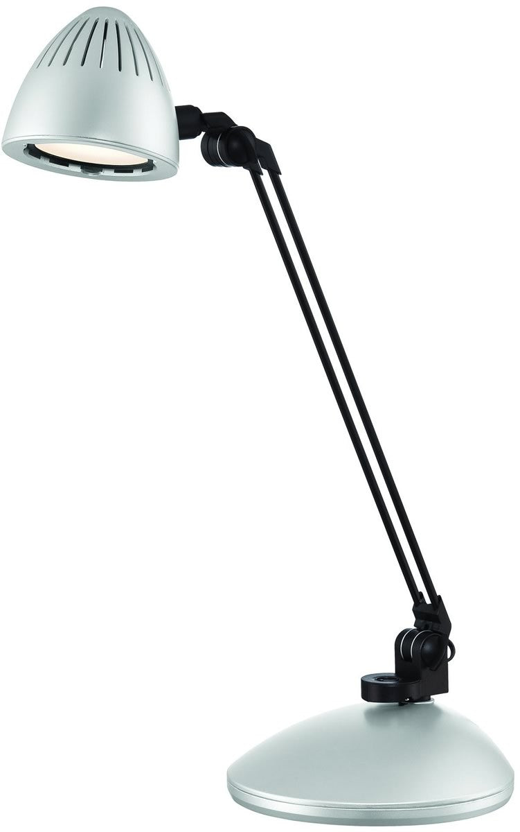 Donati 1-Light LED Desk Lamp Silver