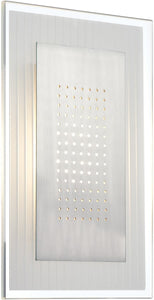 Lite Source Flynn 1-Light Wall Sconce Glass LS16937