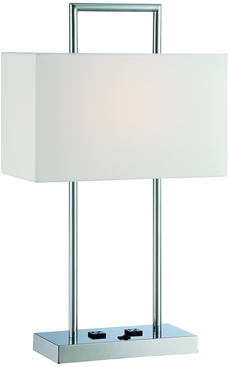 "26""H Jaymes 1-Light Table Lamp Chrome"