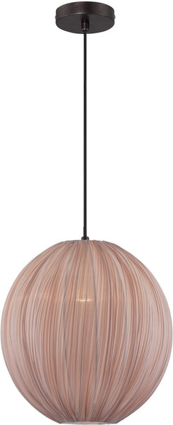 Lite Source Kaden 1-Light Pendant Copper Bronze LS19791