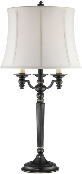 Lite Source Katarina 1-Light Table Lamp Aged Black CF41257
