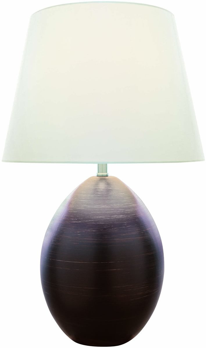 Koen 1-Light Table Lamp Dark Brown