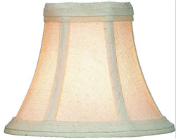 Lite Source 3 T x 6 B x 5 H Softglow Cream Clip-On Candelabra Shade CH5076