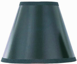 Lite Source 3 T x 5 B x 4.5 H Black with Gold Liner Clip-On Candelabra Shade CH5725