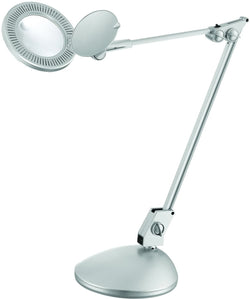 Lite Source Mara 1-Light LED Desk Lamp Silver LSM199SILV