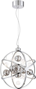Lite Source Marilyn 6-Light Pendant Chrome LS19577