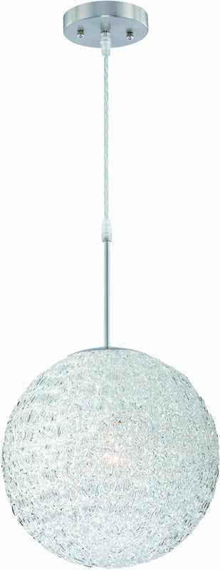 Icy Pendant Polished Steel