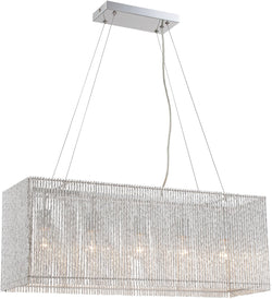 Lite Source Rania 5-Light Chandelier Chrome LS19578